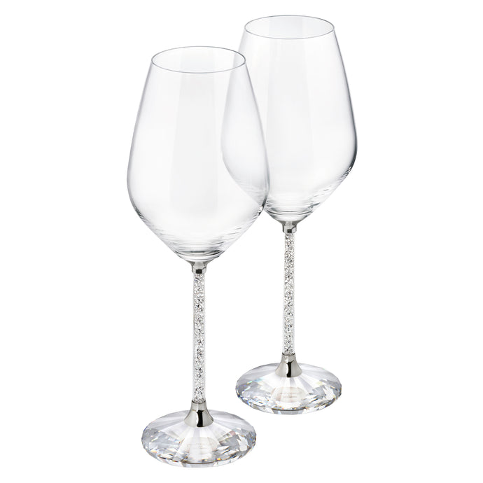 Crystalline White Wine Glasses (Set 2)