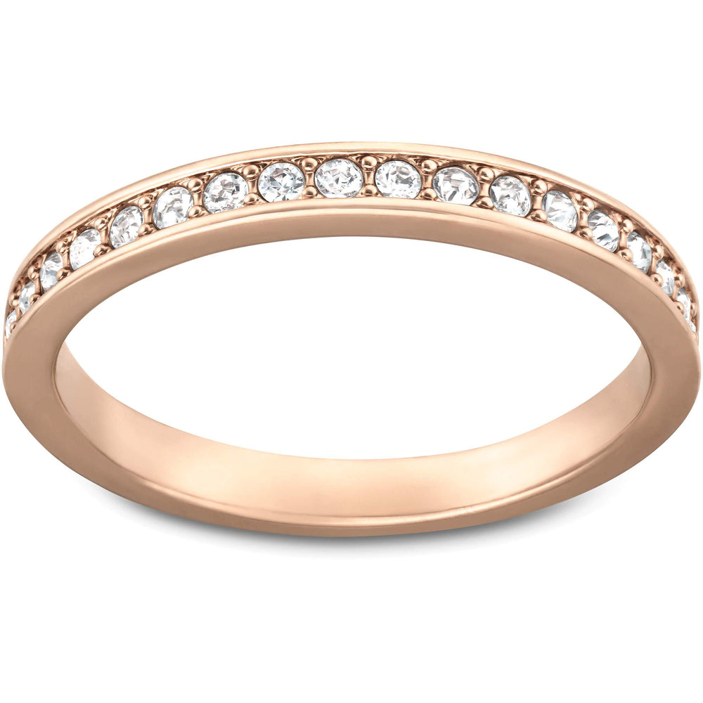 Swarovski Rare Ring, White, Rose Gold Plated