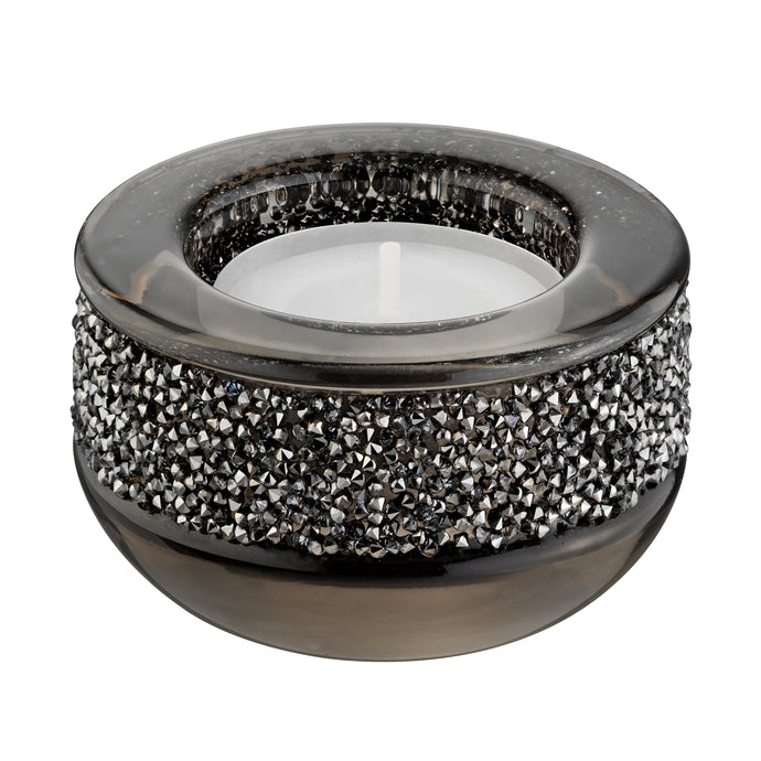 Shimmer Tea Light Holder , Gray