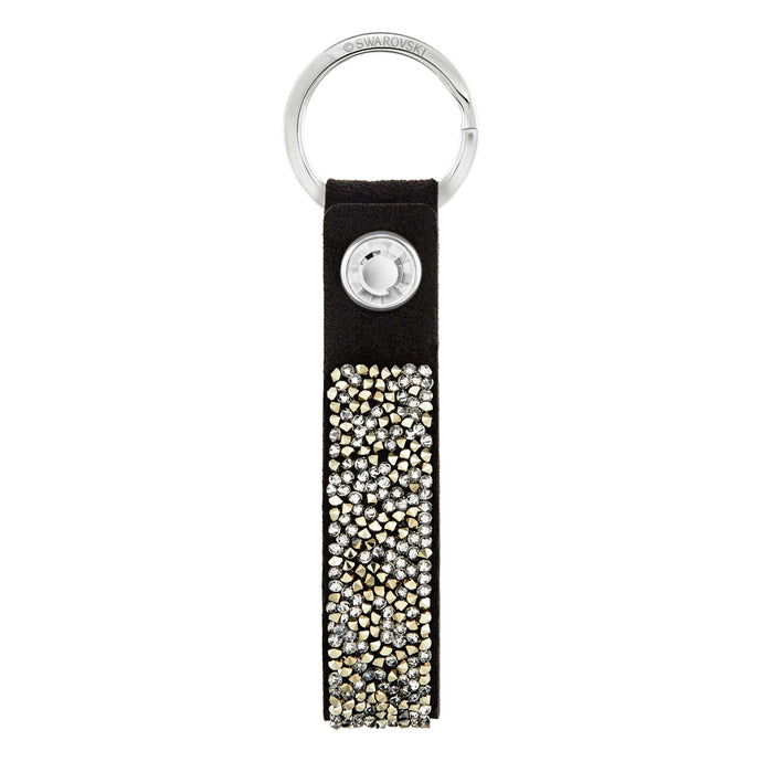 Swarovski Glam Rock Black Key Ring