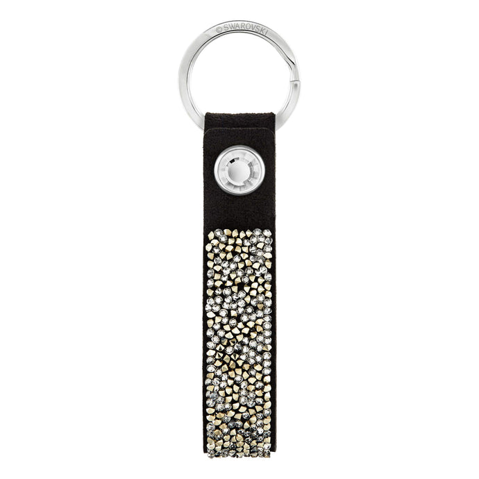 Swarovski Glam Rock Key Ring, Black