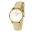 Load image into Gallery viewer, Dreamy Watch, Leather strap, Yellow, Gold-tone PVD