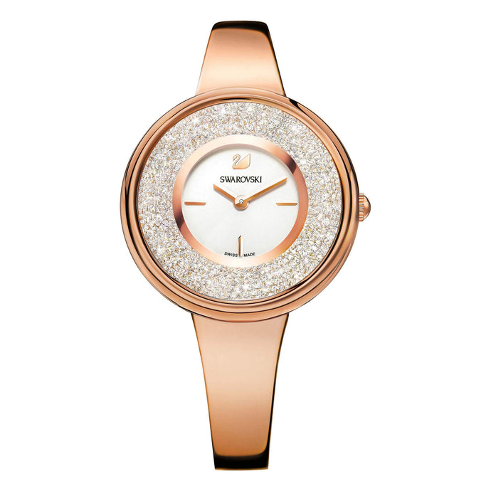 Swarovski Crystalline Bracelet Watch, Rose Gold Tone