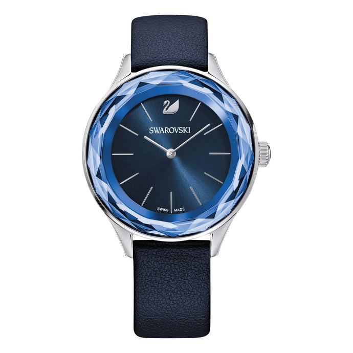 Swarovski Octea Nova Watch, Blue, Stainless Steel