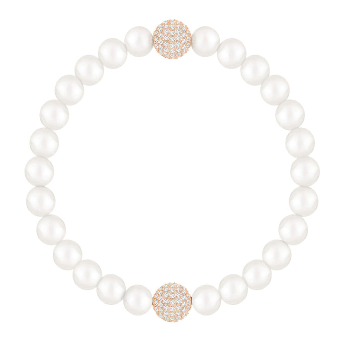 Swarovski Swarovski Remix Collection, White Crystal, Pearl, White, Rose Gold Plated