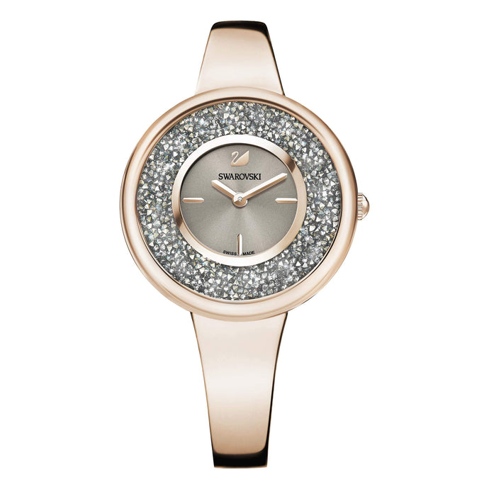 Swarovski Crystalline Pure Watch, Metal Bracelet, Champagne Gold Tone