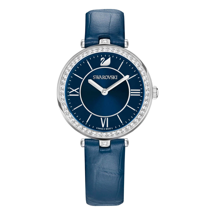 Swarovski Aila Dressy Lady Watch, Blue, Stainless Steel