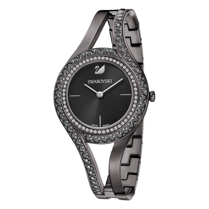 Swarovski Eternal Watch, Metal Bracelet, Black, Black Tone