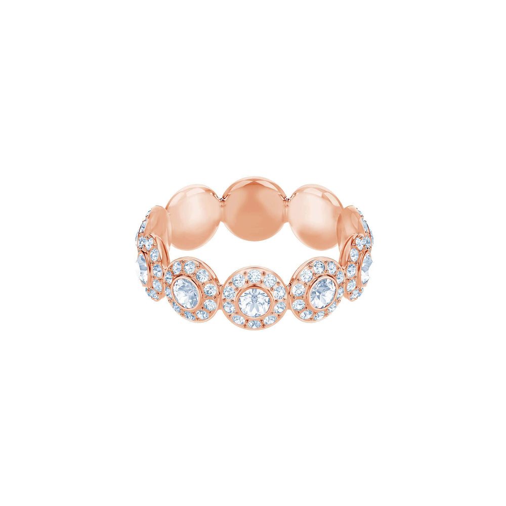 Swarovski Angelic Ring, White, Rose Gold Plating