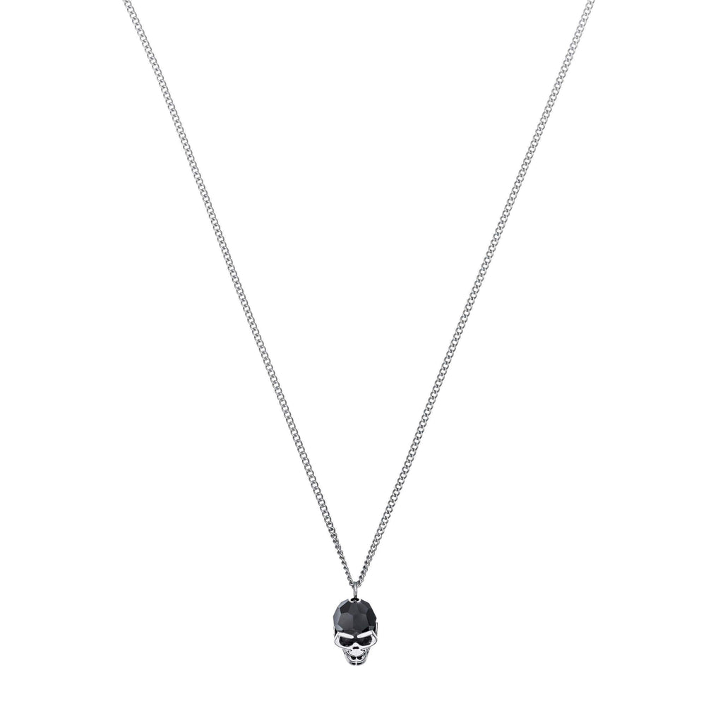 Taddeo Pendant, Black, Palladium Plating