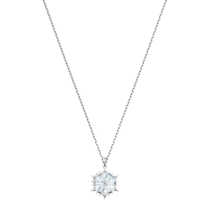 Swarovski Magic Pendant, White, Rhodium Plating