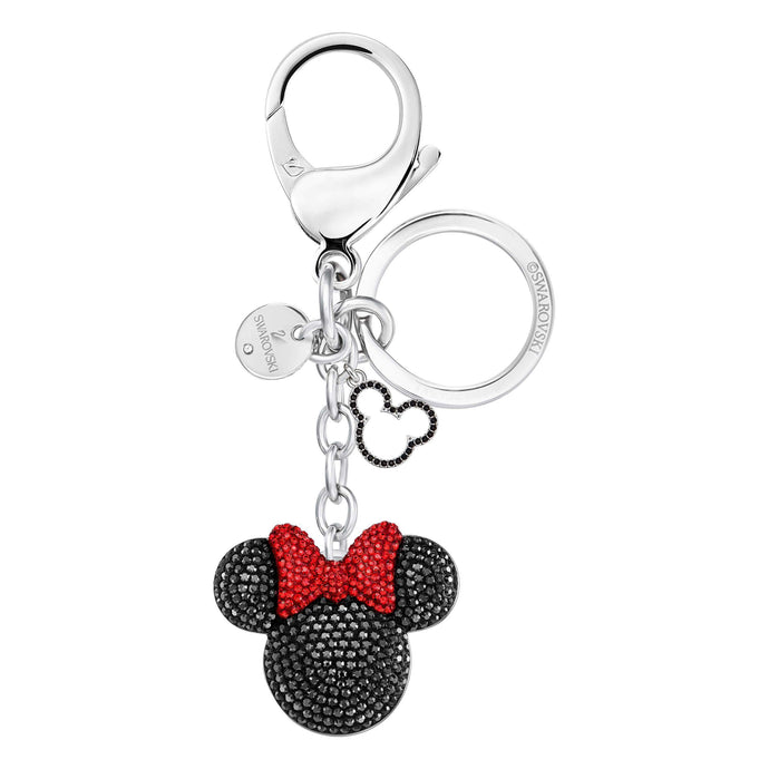 Swarovski Minnie Bag Charm, Black, Stainless Steel