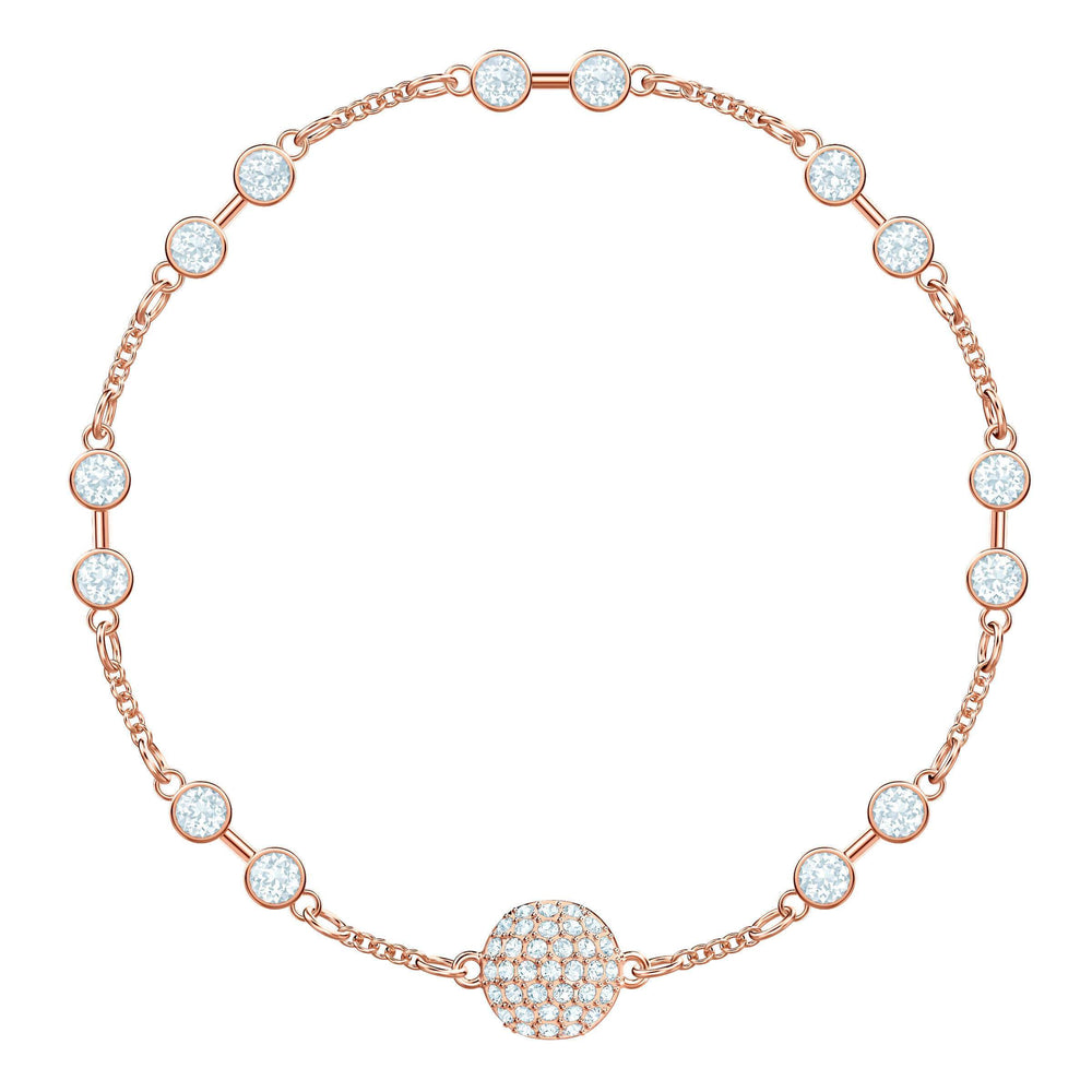 Swarovski Swarovski Remix Collection Carrier, White, Rose Gold Plating