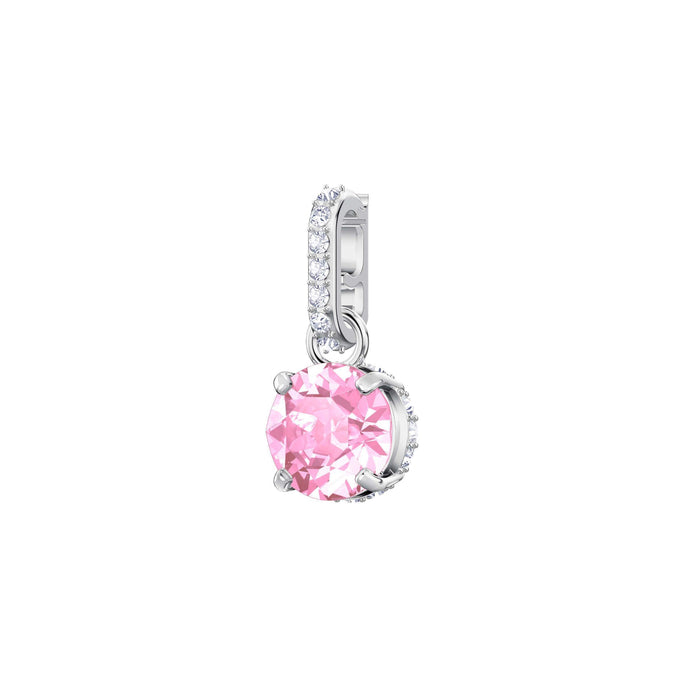 Swarovski Swarovski Remix Collection Charm, October, Pink, Rhodium Plating