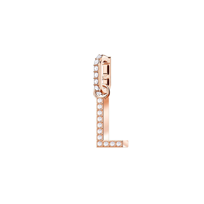 Swarovski Swarovski Remix Collection Charm L, White, Rose Gold Plating