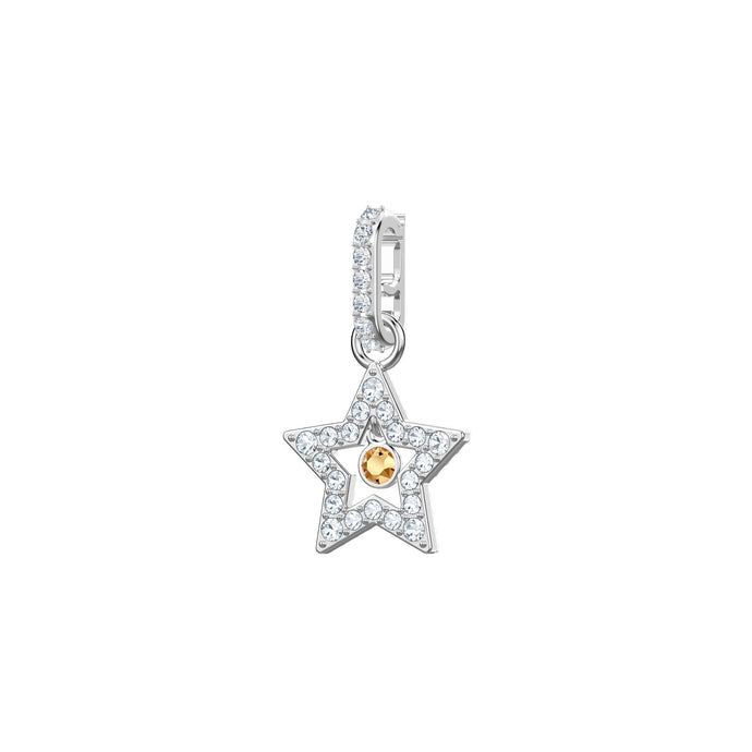Swarovski Swarovski Remix Collection Charm, Star, White, Rhodium Plating