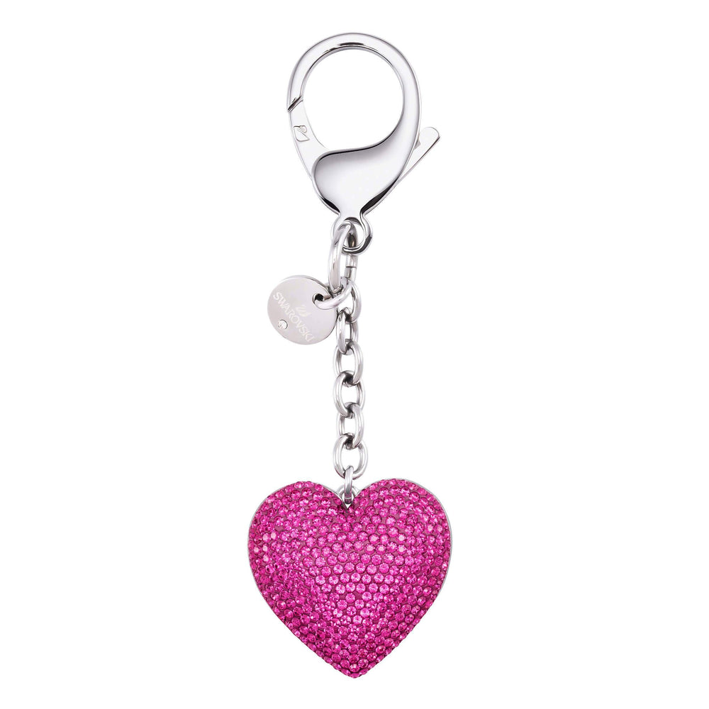 Lovely Bag Charm, Fuchsia, Stainless Steel