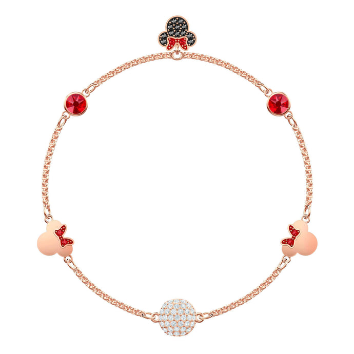 Swarovski Swarovski Remix Collection Minnie Strand, Medium, Multi-colored, Rose gold plating