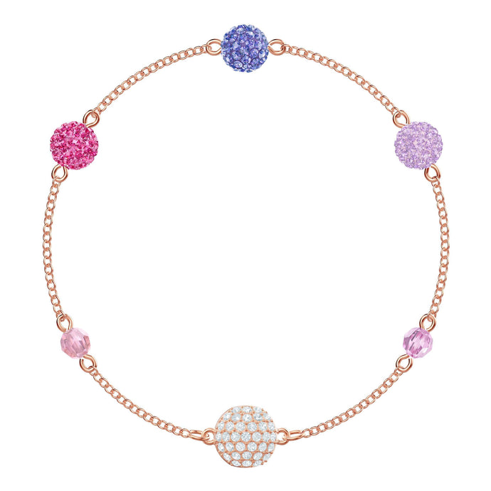 Swarovski Swarovski Remix Collection Pop Strand, Purple, Rose gold plating
