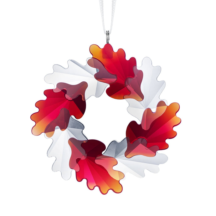 Swarovski Wreath Ornament, Leaves
