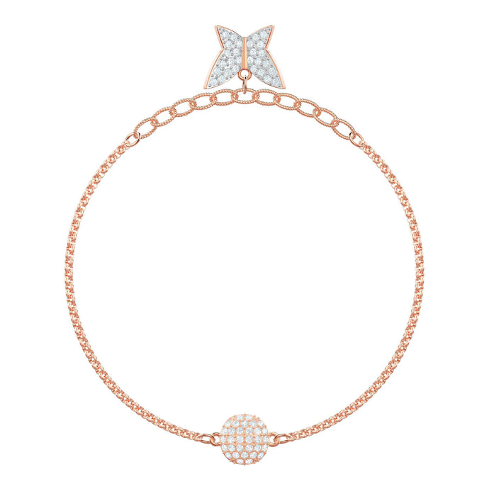 Swarovski Swarovski Remix Collection Lilia Strand, White, Rose gold plating