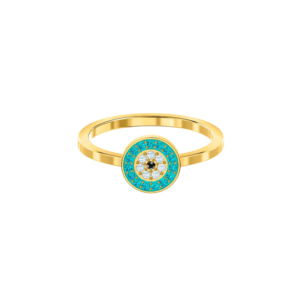 Swarovski Luckily Ring, Multi-colored, Gold plating