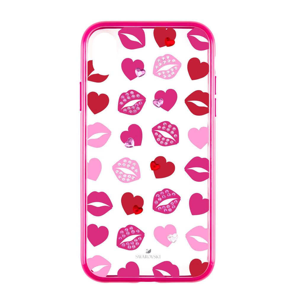 Swarovski Lovely Smartphone case with integrated Bumper, iPhone® XR, Pink