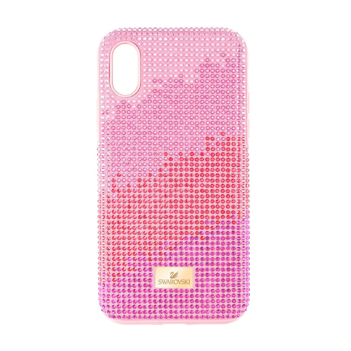 Swarovski High Love Smartphone case with Bumper, iPhone® XR, Pink