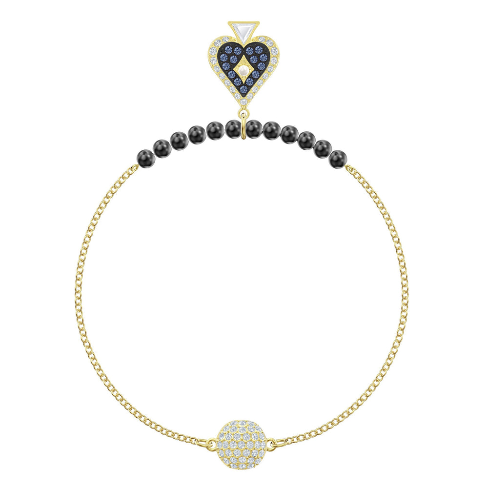 Swarovski Swarovski Remix Collection Spade Strand, Multi-colored, Gold-tone plated