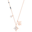Load image into Gallery viewer, Swarovski Swarovski Symbolic Star Pendant, White, Rose-gold tone plated