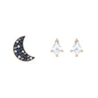 Load image into Gallery viewer, Swarovski Swarovski Symbolic Pierced Earrings set, Multi-colored, Rose-gold tone plated