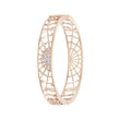 Load image into Gallery viewer, Swarovski Precisely Cuff, White, Rose-gold tone plated