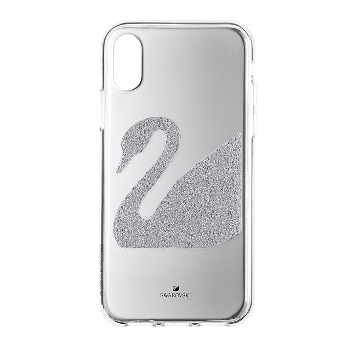 Swarovski Swan Smartphone Case, iPhone® X/XS, Gray