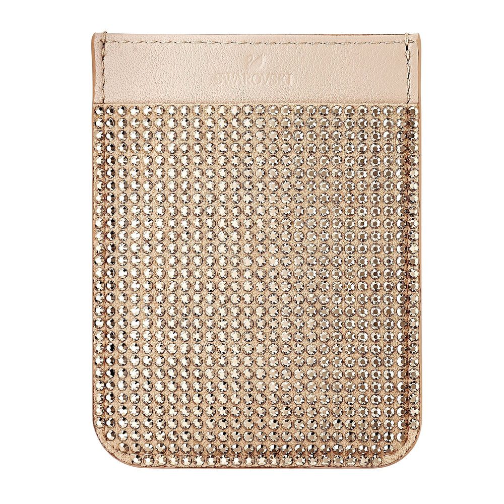 Swarovski Swarovski Smartphone sticker pocket, Rose Gold