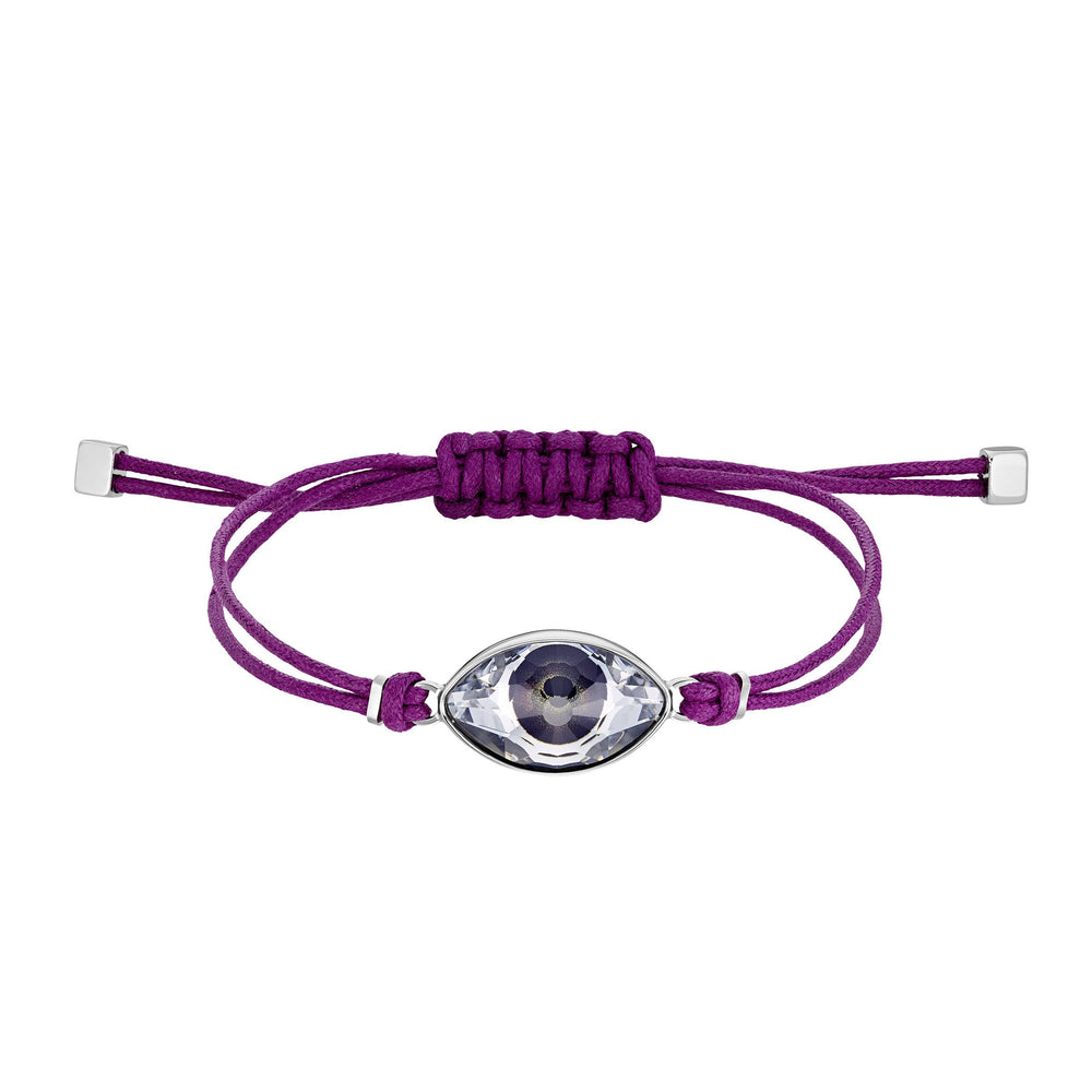 Swarovski Power Collection Bracelet, Fuchsia, Stainless steel
