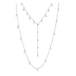 Load image into Gallery viewer, Swarovski Moonsun Necklace, White, Rhodium plated