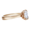 Load image into Gallery viewer, Swarovski Attract Motif Ring, White, Rose-gold tone plated