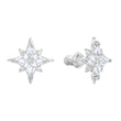 Load image into Gallery viewer, Swarovski Swarovski Symbol Star Set, White, Rhodium plated