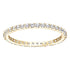 Swarovski Vittore Ring, White, Gold-tone plated