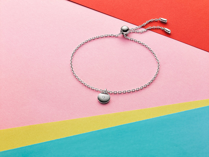 GINGER BRACELET RHODIUM SHINY - Gift with Purchase *T&C Applies