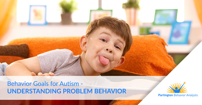 Behavior Goals for Autism — Understanding Problem Behavior