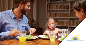 Teaching language skills to your child at the dinner table