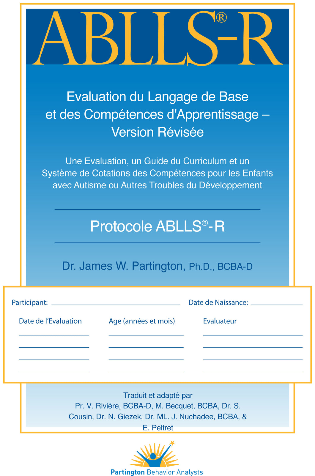 French ABLLS-R Protocol