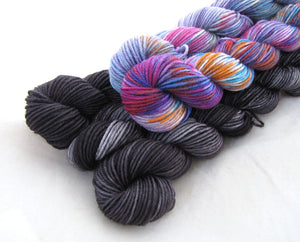 Superwash Merino 4ply - Mini Skein Packs