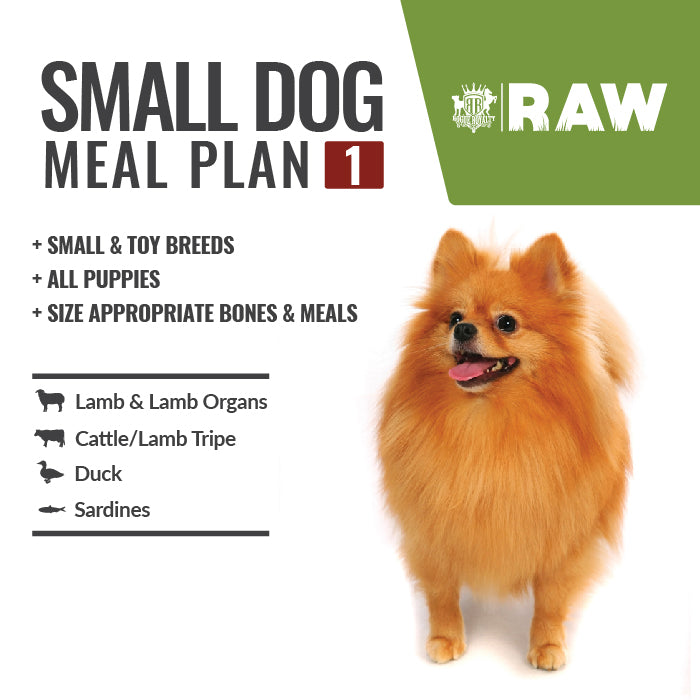 Australian Made MEAL PLAN For SMALL DOG
