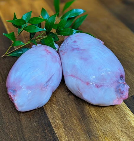 Chicken Hearts 500g - Organic