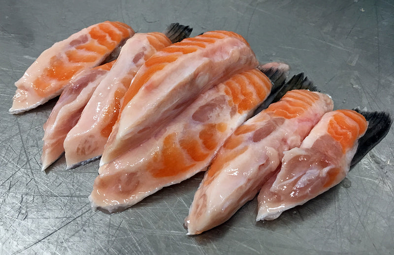 Salmon Belly Strips