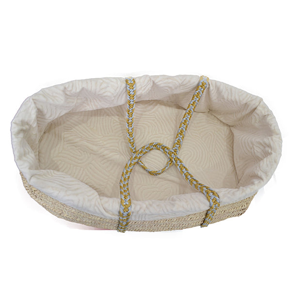 Image of Legacy Handwoven Palm Leaf Organic Bassinet