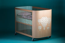 Embrace Adventure Crib In Beech Wood For Babies