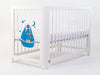 High Quality Mirrored Blue Baby Crib